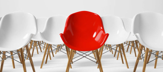 location de chaises pour un séminaire